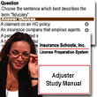 insurance adjuster school